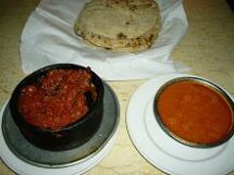 ムサカとトマトスープ