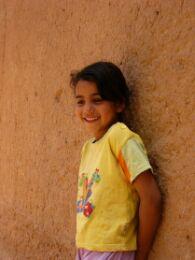 カスバ街道の少女