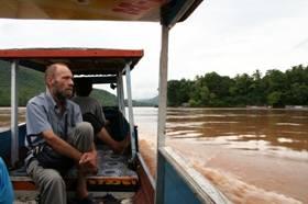 メコン川のボートツアー